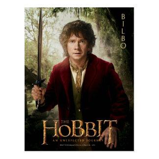 Ilustraciones de la edición limitada Bilbo Postal