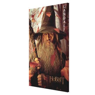Ilustraciones de la edición limitada: Gandalf Lienzo Envuelto Para Galerías