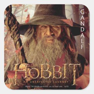 Ilustraciones de la edición limitada: Gandalf Pegatina Cuadrada