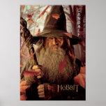 Ilustraciones de la edición limitada: Gandalf Póster