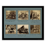 Ilustraciones de la fotografía con Custer 1862 Posters