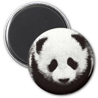 Ilustraciones de la panda imán para frigorifico