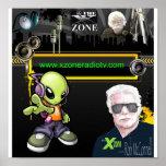 """Ilustraciones de la zona de """"X"""" Posters"""