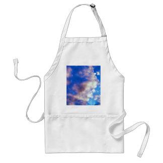 Ilustraciones de las nubes delantal