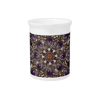 Ilustraciones de lujo del ornamento jarras de beber