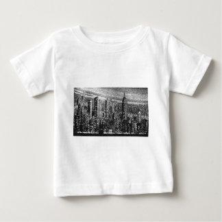 Ilustraciones de New York City Playera