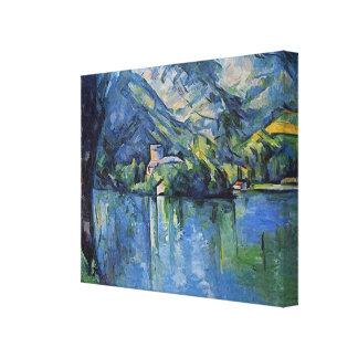 Ilustraciones de Paul Cezanne Impresión En Lienzo