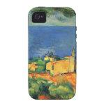 Ilustraciones de Paul Cezanne iPhone 4/4S Fundas