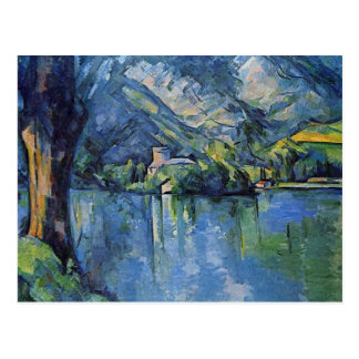 Ilustraciones de Paul Cezanne Postal