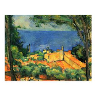 Ilustraciones de Paul Cezanne Postales