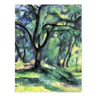 Ilustraciones de Paul Cezanne Tarjetas Postales