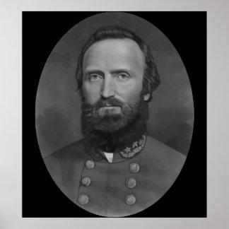 Ilustraciones de Stonewall Jackson Póster