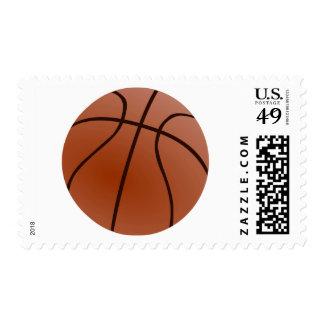 Ilustraciones del baloncesto estampillas