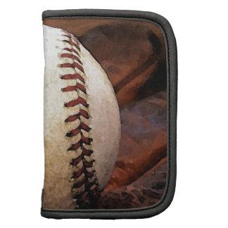 Ilustraciones del béisbol organizadores