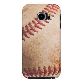 Ilustraciones del béisbol funda samsung galaxy s6