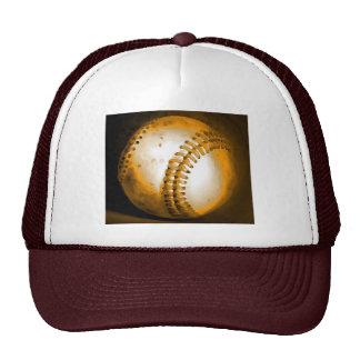 Ilustraciones del béisbol gorras