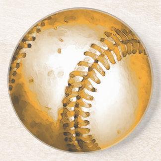 Ilustraciones del béisbol posavasos manualidades