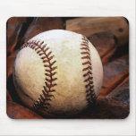 Ilustraciones del béisbol tapetes de raton