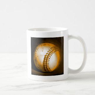 Ilustraciones del béisbol taza