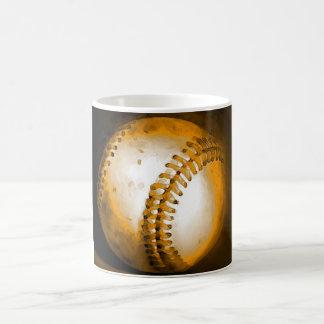 Ilustraciones del béisbol taza clásica