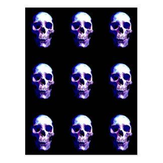 Ilustraciones del cráneo postal