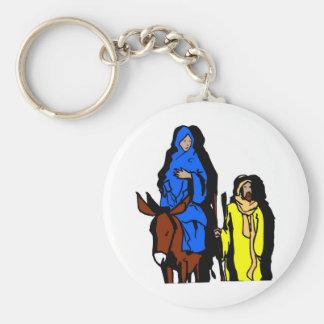 Ilustraciones del cristiano de José y de Maria Llavero Redondo Tipo Pin