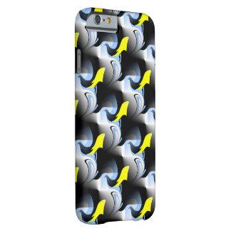 Ilustraciones del delfín y del pájaro 3D Funda Barely There iPhone 6