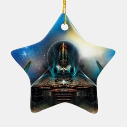 Ilustraciones del fractal de la ciencia ficción de ornamentos de reyes