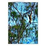 """Ilustraciones del """"Gibbon colgante"""" Tarjetón"""