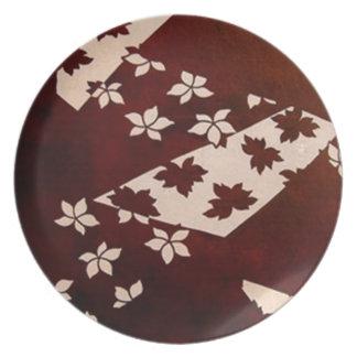 ilustraciones del katagami platos