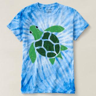 Ilustraciones del mosaico de la tortuga de mar de playera