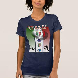 Ilustraciones del poster de Italia para los Camisetas