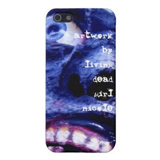 Ilustraciones del zombi por el iphone muerto de vi iPhone 5 carcasas