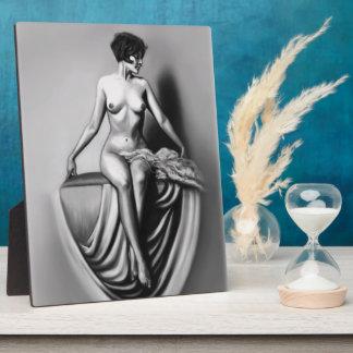 ilustraciones desnudas femeninas de la señora que placas de plastico