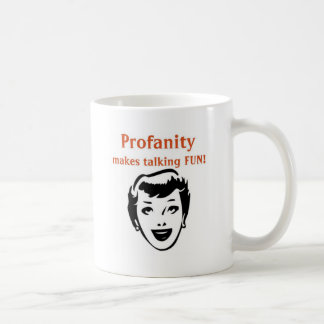 ilustraciones divertidas de la blasfemia taza de café
