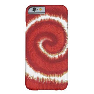 ilustraciones espirales rojas #1 de 1st-Root Funda Barely There iPhone 6