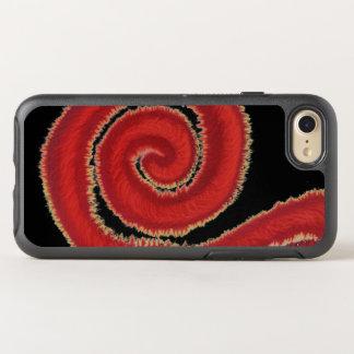 ilustraciones espirales rojas #1 de 1st-Root Funda OtterBox Symmetry Para iPhone 7