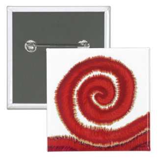 ilustraciones espirales rojas #1 de 1st-Root Pin Cuadrado