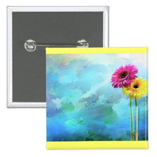 Ilustraciones florales pin