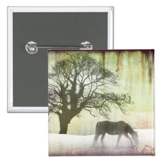 Ilustraciones hermosas del caballo de la nieve pins