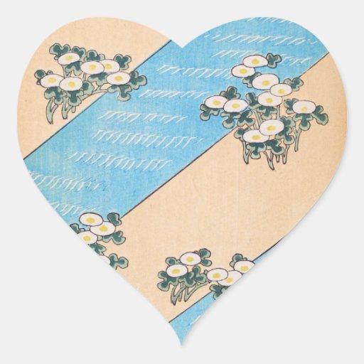 Ilustraciones lindas del vintage colcomanias de corazon