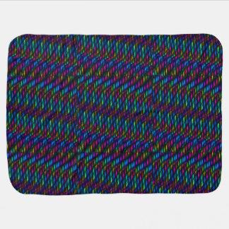 Ilustraciones magentas azules del extracto del mos mantitas para bebé