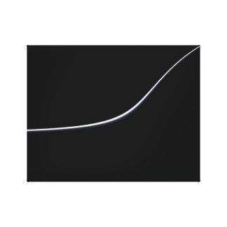 Ilustraciones minimalistas abstractas de Vista en Impresion En Lona