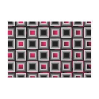 Ilustraciones minimalistas grises 2 de la impresión en lona