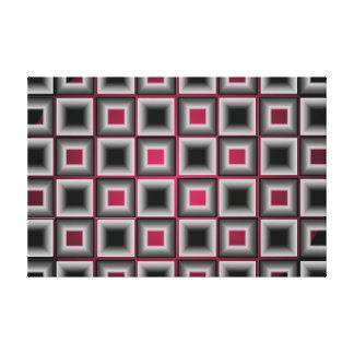 Ilustraciones minimalistas grises de la decoración impresion de lienzo