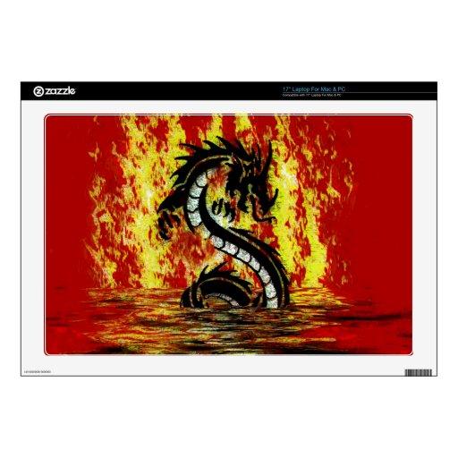 Ilustraciones míticas de la fantasía del dragón y  43,2cm portátil calcomanías