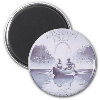 Ilustraciones originales cuartas de Missouri Imán De Nevera