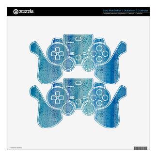 Ilustraciones originales - el azul asperja mando PS3 skins