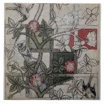 Ilustraciones originales para el diseño del papel  azulejo