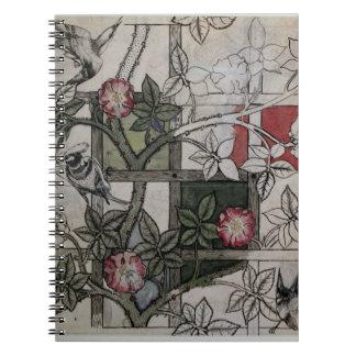 Ilustraciones originales para el diseño del papel  cuadernos